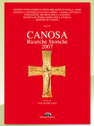 Immagine di Canosa. Ricerche storiche 2007