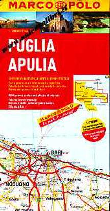 Immagine di Puglia Apulia - cartina stradale 1:200 000