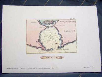 Immagine di Brindisi - Portolano del 1764