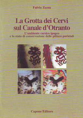 Immagine di Grotta dei Cervi sul Canale d'Otranto. Ambiente carsico ipogeo e pitture parietali