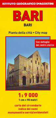 Immagine di BARI 1: 9.000 PIANTA DI CITTÀ