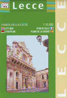 Immagine di LECCE PIANTA DELLA CITTÀ 1:10.000