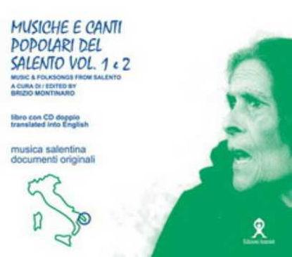 Immagine di Musiche e canti popolari del salento 1° e 2° (Music & Folksongs from Salento)