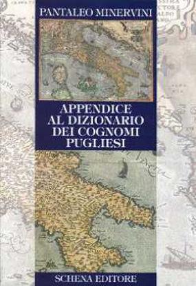 Immagine di Appendice al Dizionario dei Cognomi Pugliese