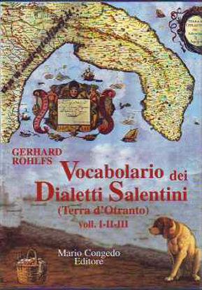 Immagine di Vocabolario dei dialetti salentini (Terra d'Otranto) 3 volumi