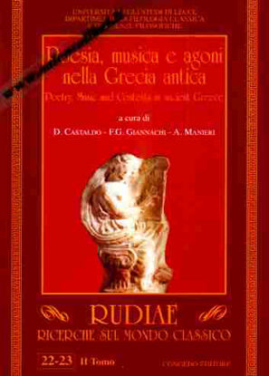 Immagine di Rudiae. Ricerche sul mondo classico. vol.22-23 Tomo 2