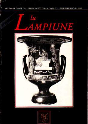 Immagine di Lu Lampiune Quadrimestrale di Cultura Salentina Anno 3 n°3 Dicembre 1987