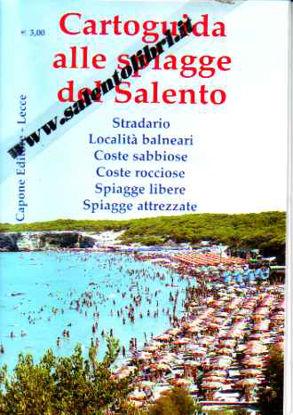 Immagine di Cartoguida alle spiagge del Salento (piegata)