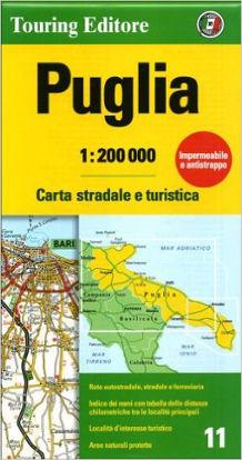 Immagine di Puglia - Carta stradale e turistica 1:200000