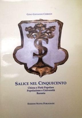 Immagine di SALICE NEL CINQUECENTO. CHIESA E PIETA` POPOLARE, POPOLAZIONE E UNIVERSITA`, BARONIA