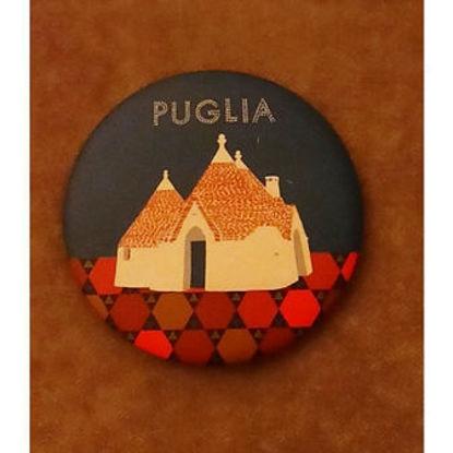 Immagine di PUGLIA  - MAGNETE ROTONDO 004
